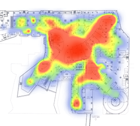 Beacons Heatmaps