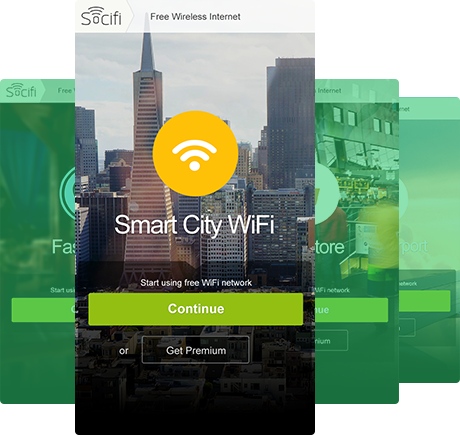 Wi-Fi Captive Portal with Click-Through Authentication